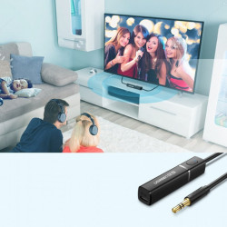 Modulator Bluetooth Ugreen cu adaptor jack - negru
