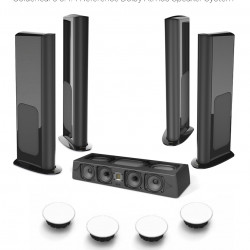 Pachet boxe Dolby Atmos 5.4.4 Reference cu Goldenear Triton Reference, SuperCenter Reference, Triton One.R si HTR7000