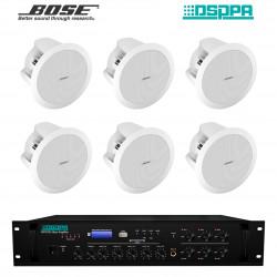 Pachet Sonorizare 120W pe 100V DSPPA MP310U si 6 x boxe BOSE DS-16F
