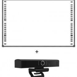 "Pachet Tabla interactiva 85"" EVOBOARD IB-85, 4:3, tehnologie optica cu 2 camere si Webcam All-in-one ,SeeUp, USB"