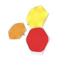 Panouri luminoase modulare inteligente Nanoleaf pent extindere Shapes Hexagons, LED RGBW, 3 panouri