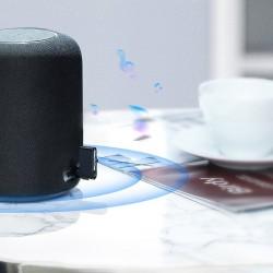 Receiver audio bluetooth AUX , Baseus Qiyin , negru
