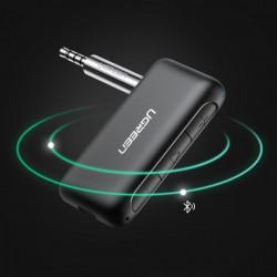 Receptor audio Ugreen mini jack AUX pentru masina, negru (70303)