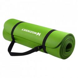 Saltea fitness antiderapanta 181 cm x 63 cm x 1 cm verde(WNSP-green)