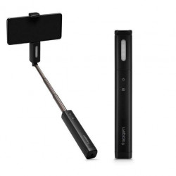 Selfie stick Spigen S550w Led Angel Ring Black