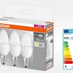 SET 3X BEC LED OSRAM 4052899955509