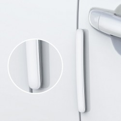 Set 4 protectii pentru usa masina , Baseus Streamlined , alb