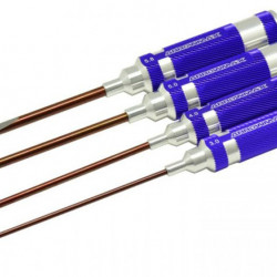 Set 4 surubelnite cu fanta Arrowmax 100-150 mm