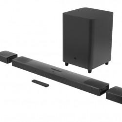 Soundbar JBL Bar 9.1 True Wireless Surround, 5.1.4, 820W, 4K, Dolby Atmos, HDMI, Bluetooth, Wi-Fi, Chromecast, Airplay 2