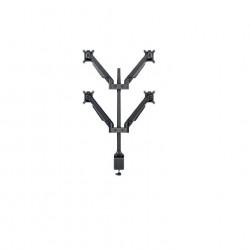"""Suport 4 brate flexibile Gas Lift pentru LCD Multibrackets 7235, Negru,4*15-32"""",incl. verticala:+75/ -45º,rotire: +/-90º"""