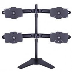 "Suport 4 monitoare/LCD birou Multibrackets,15""-32"", 4 brate, negru"