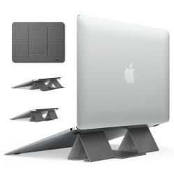 Suport Stand Pliabil Ringke Folding Stand 2 Foldable Portable Pentru Laptop, Tableta, Telefon, Gri