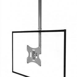 Suport TV tavan Blackmount S54,10''-32'' (25cm-82cm), max. 30 kg, reglabil, argintiu