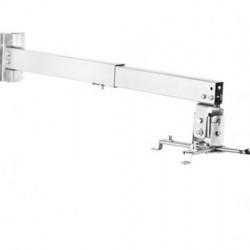 Suport videoproiector perete/tavan BlackMount WALL2, reglabil, max. 10kg, Alb