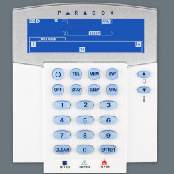 TASTATURĂ PARADOX LCD CU PICTOGRAME