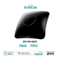 Telecomanda universala inteligenta Broadlink RM4 Pro, Wi-Fi + RF + IR, Model 2020
