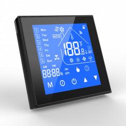 """Termostat inteligent WiFi SmartWise, compatibil cu aplicatia eWeLink, tip """"A"""" (5A), negru"""