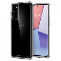 Husa Spigen Ultra Hybrid Samsung Galaxy S20 Crystal Clear - transparent