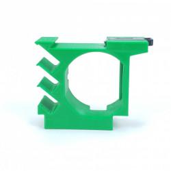 Adaptor pe sina DIN pentru comutatoare cu releu inteligent Shelly 1 si Shelly 1PM cu adaptor de temperatura