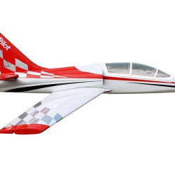 Aeromodel Jet pilot RC Dolphin Turbina Jet 8-12 kg 2000mm alb