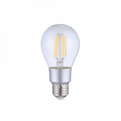 Bec inteligent Shelly Vintage A60, Dimmer, Wi-Fi, Control aplicatie, E27, 7W, 750 LM