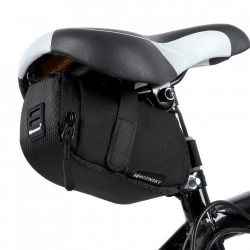 Borseta bicicleta cu prindere sub sa,Wozinsky 0.6 L negru (WBB8BK black)