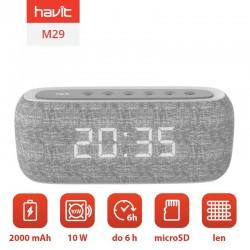Boxa Bluetooth HAVIT M29 cu radio și ceas