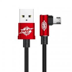 Cablu Baseus MVP Elbow USB la MicroUSB, 2m, Rosu