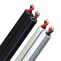 Cablu boxe bulk Audioquest Rocket 22, NEGRU, vanzare la metru, ROCK22164B - rola de 50m
