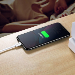 Cablu Joyroom fast charging USB Type C - Lightning (MFI certificate) Power Delivery 3 A 1,2 m white (S-M420)