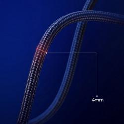 Cablu Joyroom USB - Micro USB 3 A 1,5 m negru (S-1530N1)