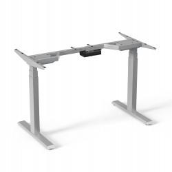 Cadru birou electric dual motor Sit-Stand, Blackmount M08-23D, GRI