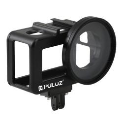 Carcasă din aluminiu cu filtru UV Puluz pentru DJI Osmo Action