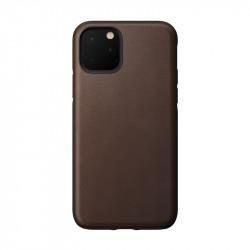 Carcasa din piele naturala NOMAD Rugged iPhone 11 Brown