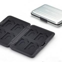 Carcasa metalica PGYTECH pentru stocarea cardurilor de memorie silver (PGY-AC-304)