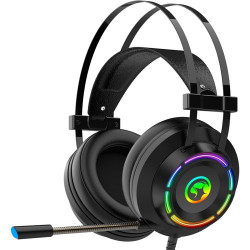 CASTI MARVO HG9062, VIRTUAL 7.1 SURROUND, USB, NEGRU