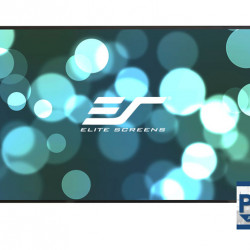 Ecran proiectie cu rama fixa, de perete, 243,5 x136,9 cm, EliteScreens AEON AR110WH2, Format 16:9