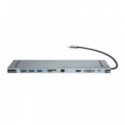 Hub 10 in 1, Baseus pentru MacBook , laptop , notebook (CATSX-F0G)