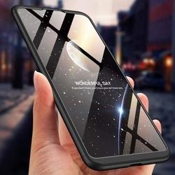 Husa 360° Matte Full Protection Gema Mixt pentru Xiaomi Mi 8 Lite , negru
