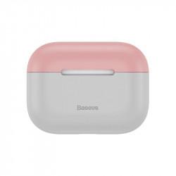 Husa Baseus Super Slim pentru AirPods Pro (gri-roz)