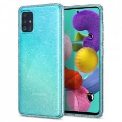 Husa Spigen Crystal Glitter Samsung Galaxy A51 - transparent