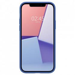 Husa Spigen Cyrill din silicon, pentru iPhone 12 Pro / iPhone 12, albastru