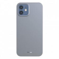 Husa telefon Baseus Wing Case Ultrathin iPhone 12 mini White (WIAPIPH54N-02)