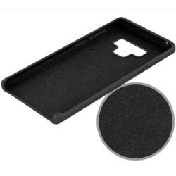 Husa telefon din silicon flexibil cu interior din material impotriva zgarieturilor , Gema Mixt pentru Samsung Note 9 N960 , mov