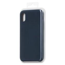 Husa telefon din silicon flexibil cu interior din material impotriva zgarieturilor , Gema Mixt pentru Samsung galaxy S8 Plus G955 , albastru inchis