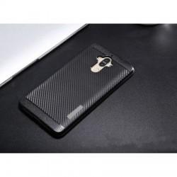 Husa telefon Puky Carbon cu placuta metalica incorporata pentru Xiaomi Redmi Note 4X / Note 4 (Snapdragon / MediaTek) , negru