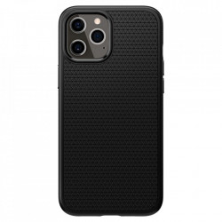 Husa telefon Spigen Liquid Air pentru Iphone 12 Pro Max Matte Black