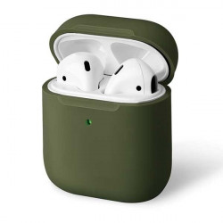Husa UNIQ Lino Airpods 2/1 - verde