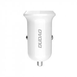 Incarcator auto DUDAO QuickCharge 3.0 4A 15W - alb