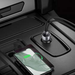 Incarcator auto fast charge Ugreen USB / USB Type C Quick Charge 3.0 Power Delivery 36 W 3 A (CD213 60980)